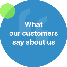 What customers say